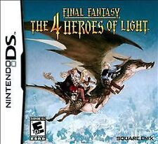 Final Fantasy: The 4 Four Heroes of Light *New* Works w/ 3ds (Nintendo DS, 2010)
