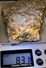 $729 -831 Carats Gold Ore Specimen Quartz!