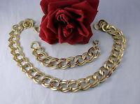 Gorgeous Retro Gold tone Necklace & Bracelet Set  CAT RESCUE