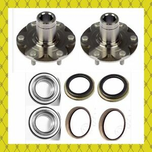 FRONT WHEEL HUB BEARING KITS FOR TOYOTA 4RUNNER SEQUOIA TUNDRA W/4WD ONLY PAIR
