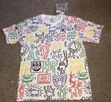 Uniqlo Keith Haring SPRZ MoMa Special Edition All Over Print Multi Color Large
