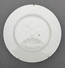 Ancienne assiette à huitre porcelaine Limoges cuisine vintage french antique