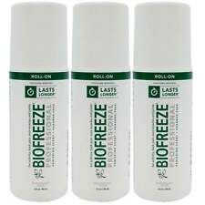 Biofreeze Professional 3 oz Roll On - Pack of 3