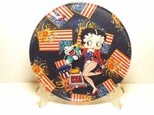 BETTY BOOP PLATE #16 U.S.A. DESIGN 8 INCHES ROUND