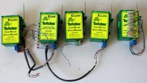 5 Circuitron Tortoise Slow Motion Switch Machines 800-6000