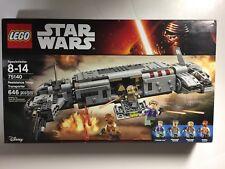 LEGO SET STAR WARS 75140 RESISTANCE TROOP TRANSPORTER  FACTORY SEALED NEW IN BOX