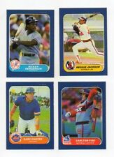 1986 Fleer Mini Baseball Cards With Stars Pick 20 High Grade NM/MT