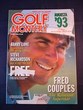 Vintage Golf Monthly - April 1993 - Birthday gift for the Golfer