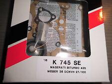 Tenäin repair kit carburateur Maserati Biturbo 425-weber 36 DCNVH 27/100