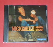 Nick Carter - Now or never -- CD / Pop