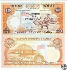 Samoa  20  Tala 2002 FDS  UNC  Pick 35a lotto 2343