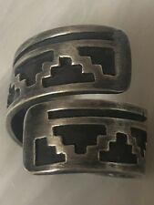 Vintage Native American Jewelry Old Pawn Silver Ring |