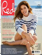Red Magazine March 2021 CINDY CRAWFORD (BRAND NEW BACK ISSUE)