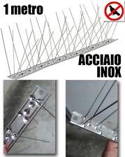 Dissuasori per piccioni plurispillo scacciavolatili acciaio inox volatili 1metro