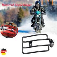 Motorrad Gepäckträger Schwarz Für Harley Sportster XL 883 1200 Solositz 04-2017