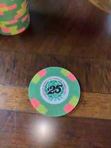 Paulson Poker $25 James Bond Casino De Isthmus Poker Chip From License To Kill