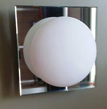 Leucos applique Minigio' con diffusore bianco e cornice Mirror
