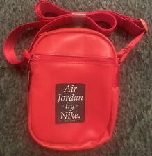 Nike Air Jordan Red Crossbody Shoulder Messenger Bag New