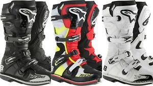 Alpinestars Tech 8 RS MX Racing Motocross Boot ATV Off-road Motorcycle Boots