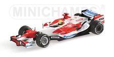 Toyota Tf107 R. Schumacher 2007 1:43 Model MINICHAMPS