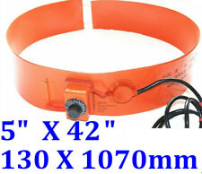 "5""  X 42"" 130 X 1070mm 700W w Adjustable Knob Controller 30-150 Degree C Heater"