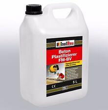 5 L  Beton - Zusatzmittel Plastifizierer Betonverflüssiger Verflüssiger