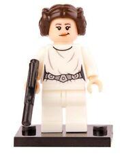Princess Leia A New Hope Minifigure NEW SEALED US SHIPPER Custom Star Wars toy