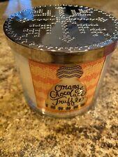 Bath And Body Works Orange Chocolate Truffle 14.5oz 3-wick Candle