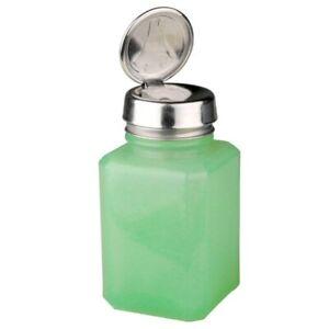MENDA JADE GLASS ONE-TOUCH PUMP BOTTLE, 6 OZ