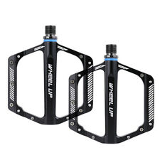MTB Mountain Bike Aluminum Alloy CNC Flat Platform Pedals Sealed Bearing Pedals