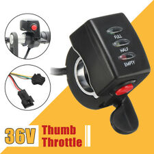 36v Thumb Throttle Speed Control Assembly LED Display for Scooter Electric Bike