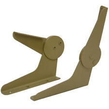 LUND 1995318 CAMO 115 DEGREE MARINE BOAT FOLDING SEAT CHAIR HINGES (SET OF 2)