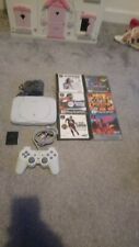 PS1 PSONE PLAYSTATION BUNDLE WITH 6 GAMES MEMORY CARD AND CONTROLLER