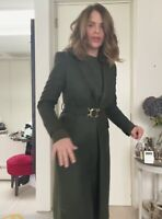 ZARA AW2021 LIMITED EDITION BELTED COAT WITH BUCKLE SIZE XL BLOGGERS BNWT TRINNY