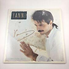Yanni Signed Autographed Chameleon Days Vinyl Album COA PROOF Greek