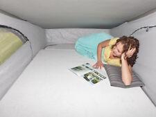 iXTEND Spannbettlaken für Matratze im Aufstelldach VW T6 California Nicki-Plüsch