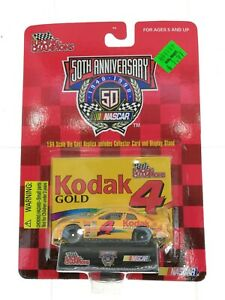 Racing Champions 50th Anniversary 1:64 Die Cast #4 Bobby Hamilton Kodak