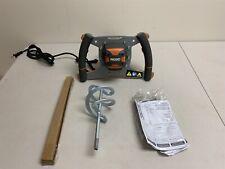 Ridgid Mortar Grout Mixer 5/8 in. Keyed Chuck 120V Ergonomic Single-Paddle R7135