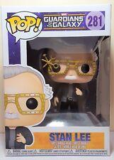 Funko Pop Stan Lee Cameo # 281 Guardians of the Galaxy Vinyl Bobble Head  New