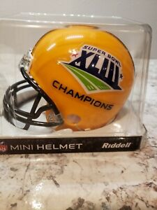 Riddell NFL Super Bowl 43 Pittsburgh Steelers Champs Mini-Helmet