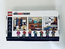 LEGO The Big Bang Theory (21302) Open Box - Bagged Parts New Factory Sealed.