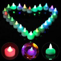 12PCS SmartLight Flameless Flickering Battery LED Tea Light Candles Tealight