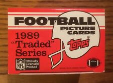 e806055fcf9 1989 Topps Football Traded Complete Factory Set - Barry Sanders