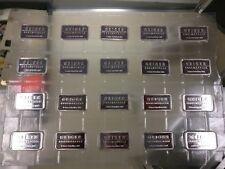 20x Geiger Schloss Guldengossa .999 Silver Bar Medal ingot - 1 OZ BARS