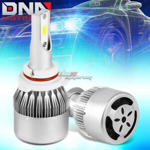 UNIVERSAL FITMENT 9006 6000K LED LIGHTING LONG DURABLE BRIGHT BULBS WITH FAN