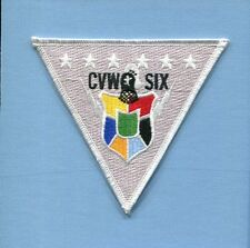 CVW-6 CARRIER AIR WING 6 US Navy Carrier squadron Cruise Jacket Patch