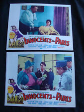 INNOCENTS IN PARIS Lobby card set ALASTAIR SIM CLAIR BOOM MARA LANE