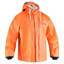 Grundens STORM RUNNER HI-VIS Jacket Breathable XXL NEW Pit Zips Cinch Hem