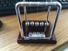 Presonalised Newtons Balance Ball Cradle Physics Science Pendulum Office Gift UK