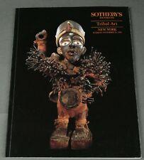 Sotheby's Tribal Art, African NY Nov 1992 Nkisi Congo
